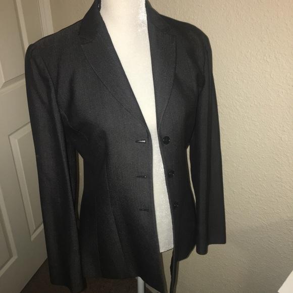 1a2300b5 Armani Collezioni blazer dark gray 8 never worn